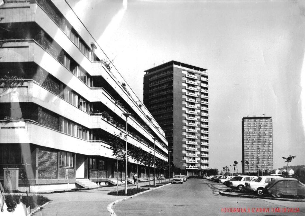 Beogradsko stanovanje, Fotografija je iz arhive Tome Devalda (1921-1995), direktora Direkcije za izgradnju Novog Beograda